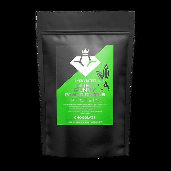 BUFF BUNNY POWER GREENS - Vegan Protein