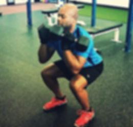 scottsdale pesonal training front squat leg exercise