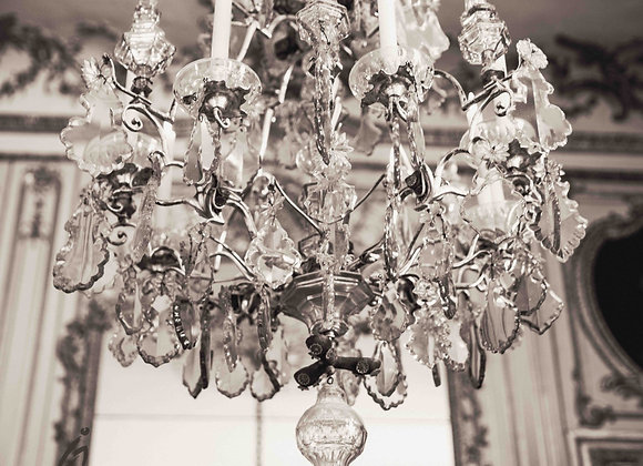 Chandelier, Paris Photography