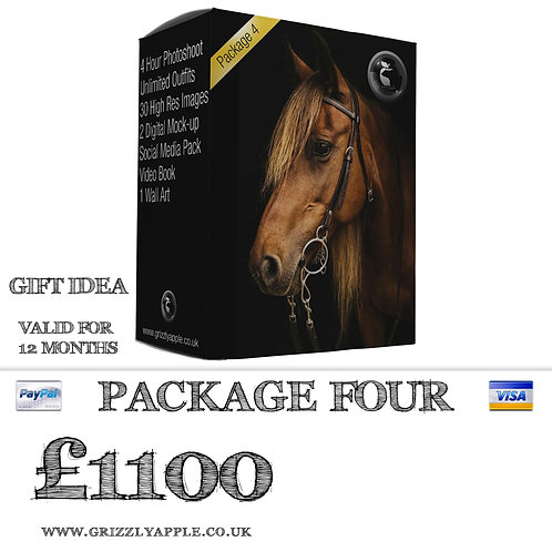 Package Four - Equestrian Photoshoot