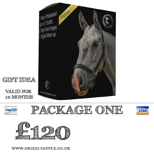 Package One - Equestrian Photoshoot