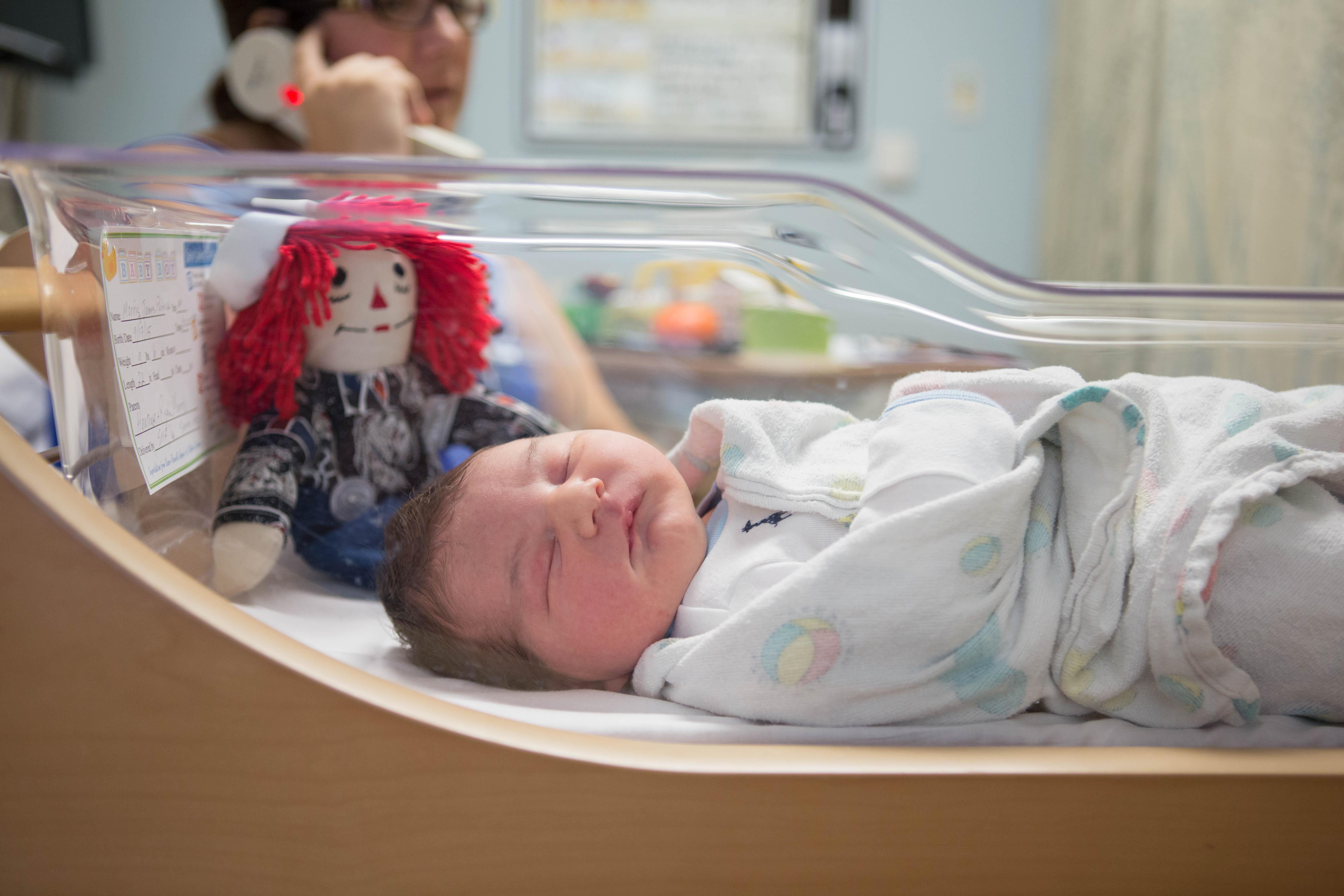fresh 48 newborn baby visit