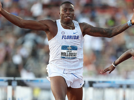 Florida's Grant Holloway named The Bowerman Finalist for second straight year