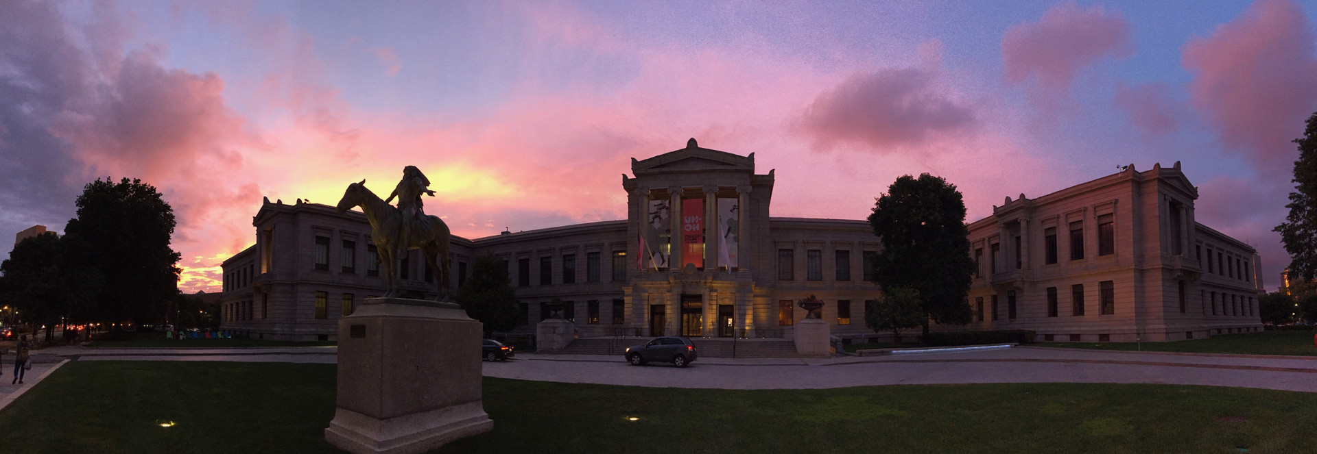 MFA at Sunset