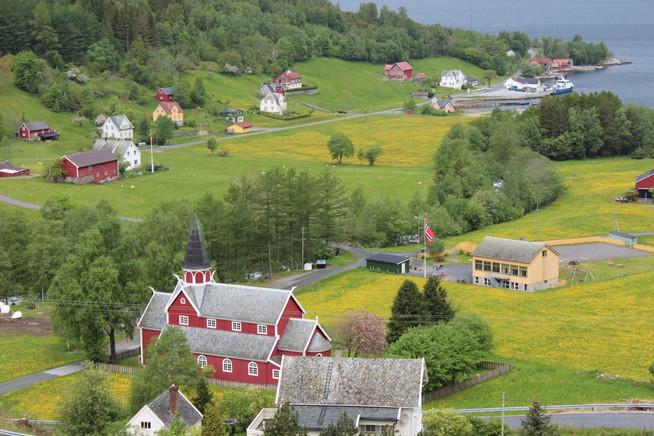 Ortnevik Village