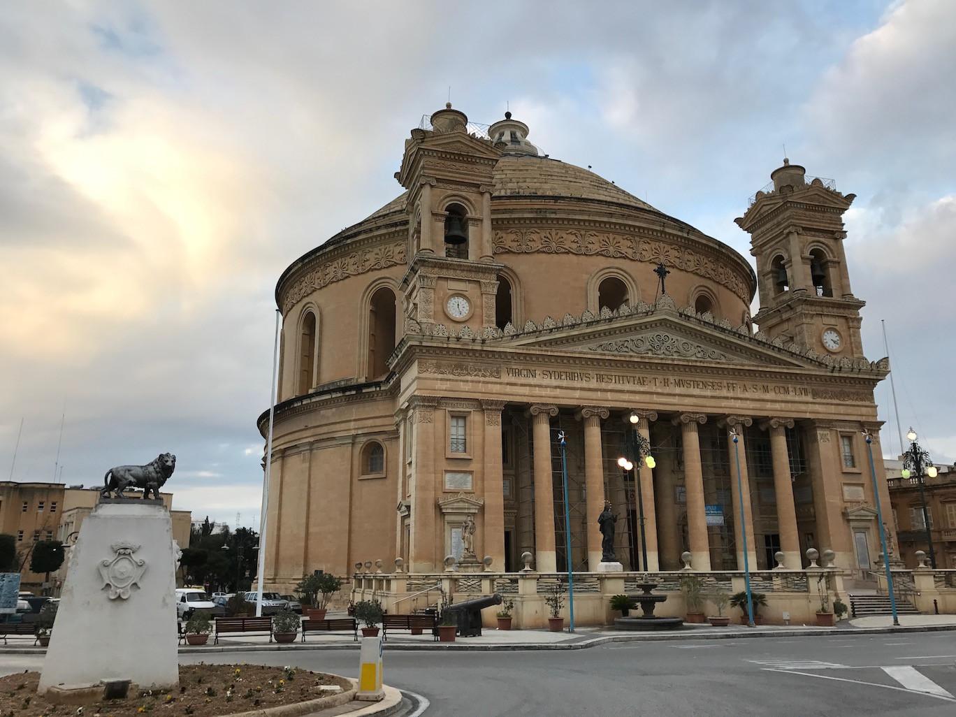 Mosta Dome & Lion