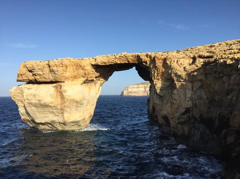 Azure Window and Cliffs