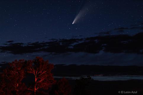 Comet and Stars