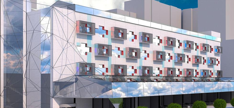 концепция редевелопмента здания завода