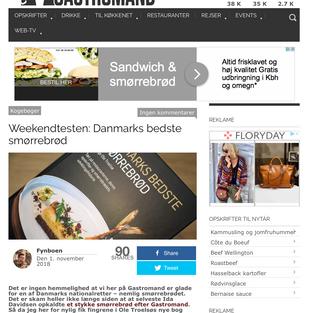 Anmeldelse på Gastromand.dk