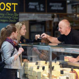 Pop up ostebar på Israels Plads