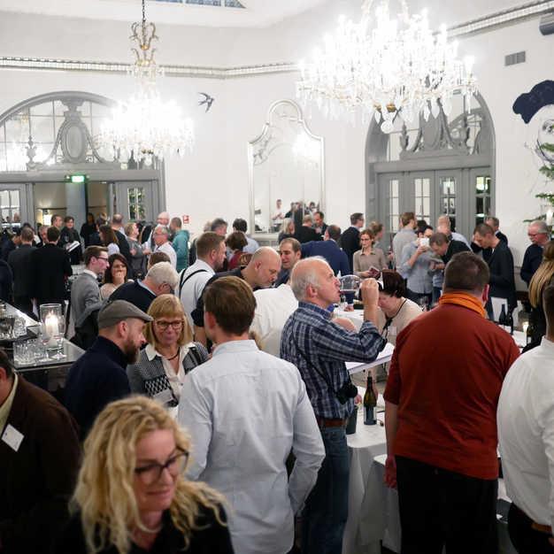 Gigondas' grenachevine strålede om kap på Nimb, hvor 240 sommelier, vinhandlere og journalister mødtes en grå vintermandag