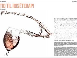 Tid til roséterapi