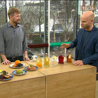 Restauratør, snapseentusiast og kaptajn Erik i morgen-tv
