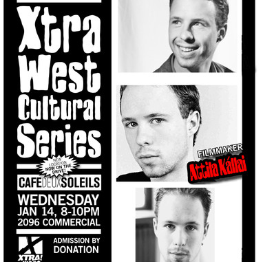Xtra West Cultiral Series-filmmaker atti