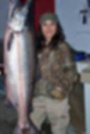 alaska river salmon