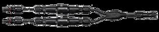 Montagem chicote conectores MC4