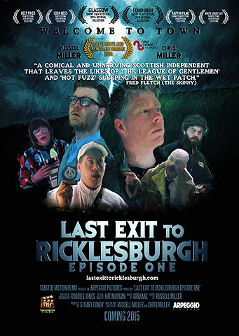 Last Exit to Ricklesburgh Poster with la