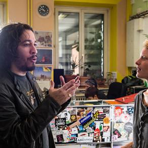Interview mit Jean Willys in Radio LoRa Zürich