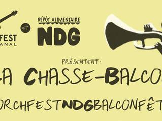 La Chasse-Balcon swingue avec la BalconFête!
