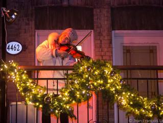 La Marche de Noël aux flambeaux!