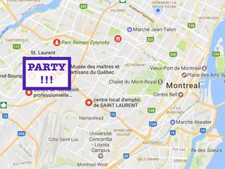 Dernier arrondissement de la série: Saint-Laurent!