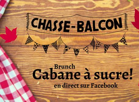 Brunch cabane à sucre en direct sur Facebook!
