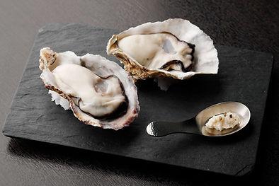 室津の牡蠣料理写真