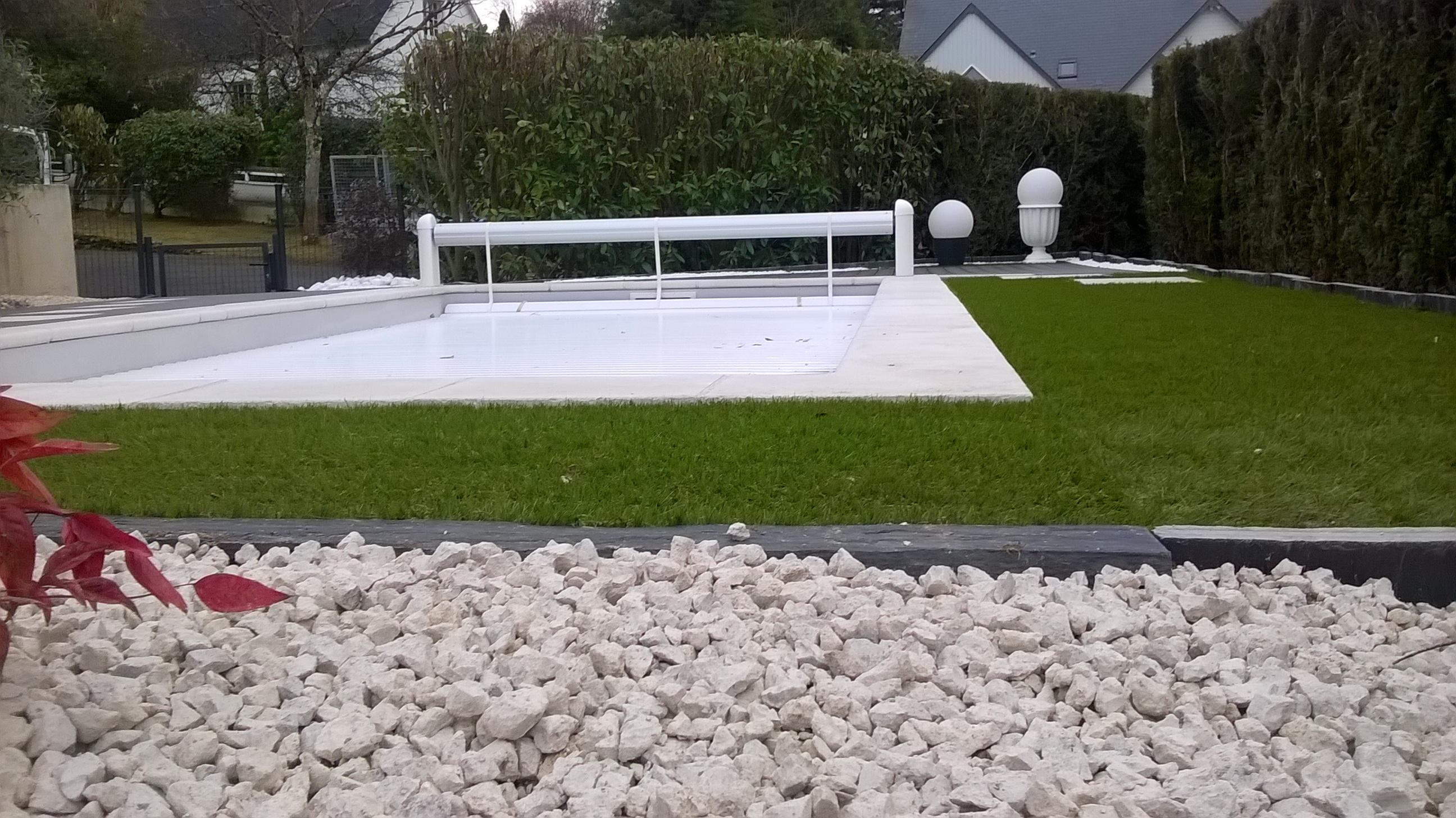 Aménagement Autour Piscine Creusée un aménagement de piscine