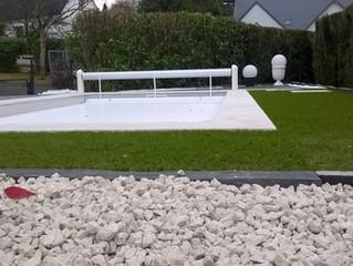 Un aménagement de piscine