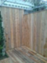 Terrasse bois, pergolas, habillage de mur en bois