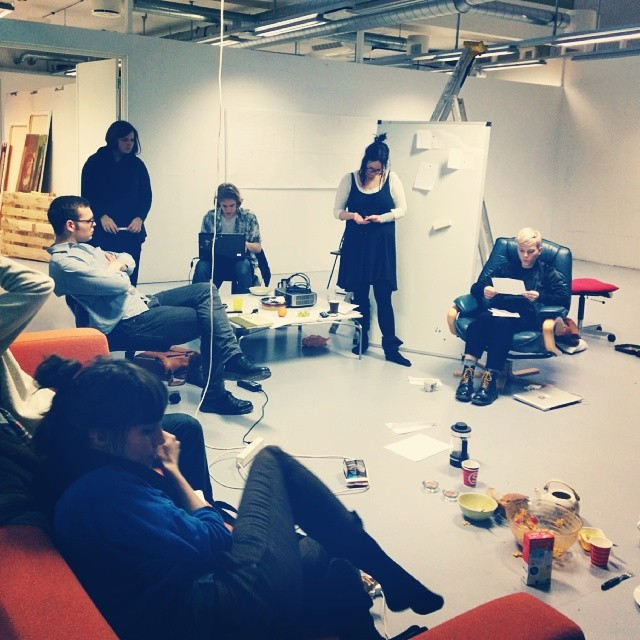 The Ultimate Oslo Art Hackathon 2014