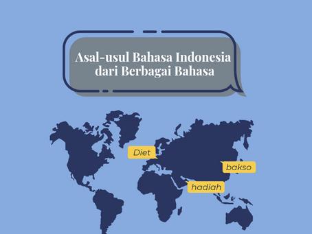 Asal-usul Bahasa Indonesia dari Berbagai Bahasa