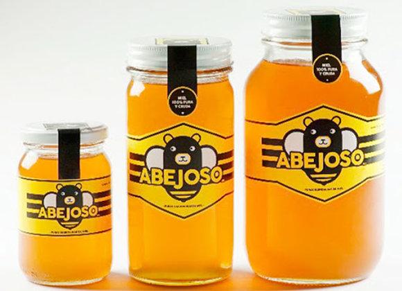 Miel pura y cruda medio litro