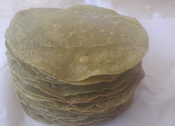 Tortillas con cilantro por docena