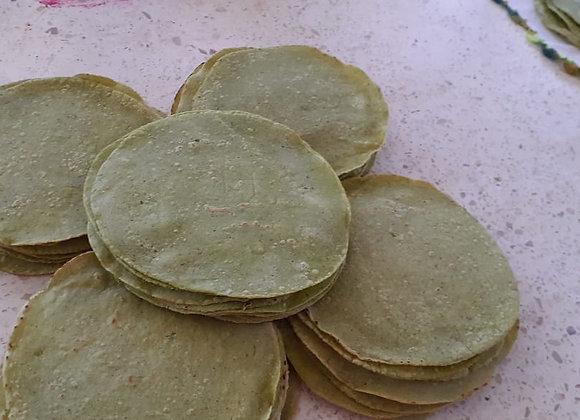 Tortillas con acelga por docena