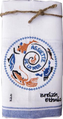 textile brodé à Quimper