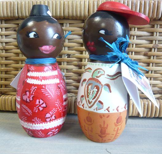 poupées Kanak