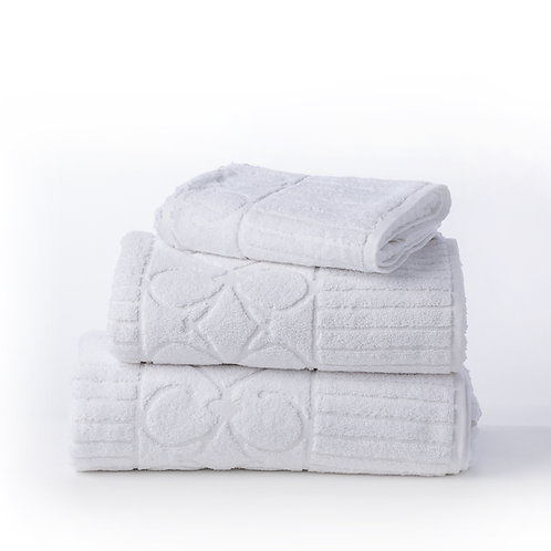 מגבת White & Linen - לבן