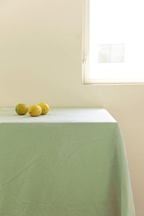 מפת שולחן 100% פשתן - Garden Green