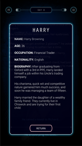 Persona Biography - Harry