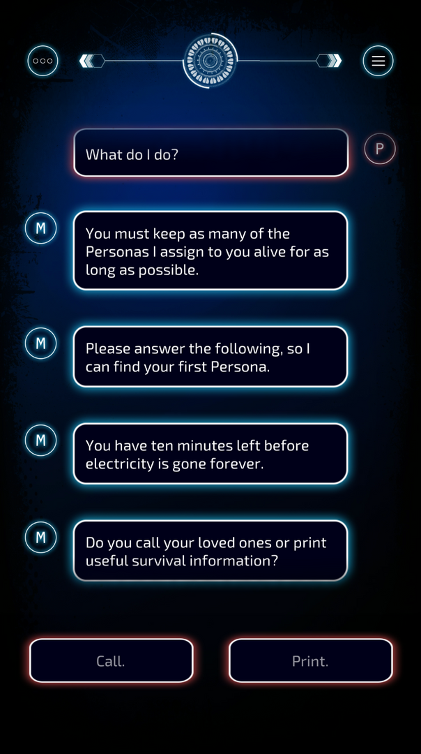 Conversation with MAUDE