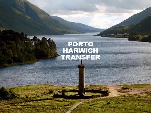 PORTO HARWICH PARA CENTRAL LONDRES