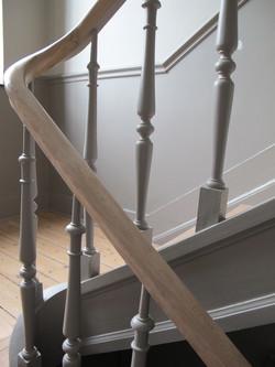 Rénovation de la cage d'escalier