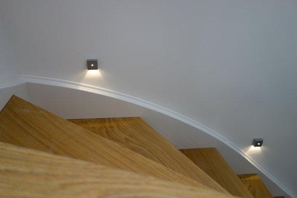 Détail balisage de l'escalier