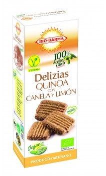Delizias de quinoa canela y limón