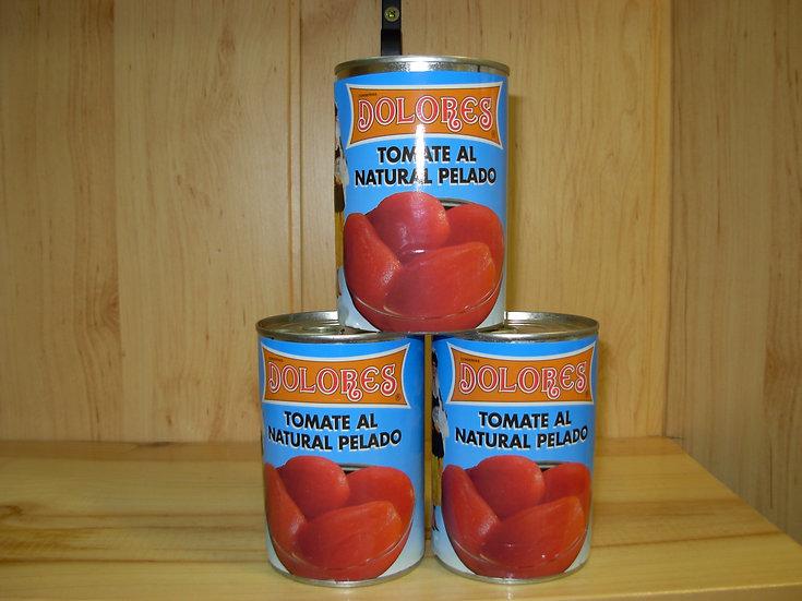 Tomate natural entero 425gr