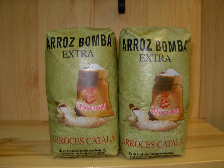 Arroz Bomba Extra Català 1Kg