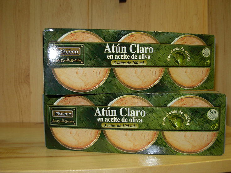 Atún Claro Escuris Tripack 100ml