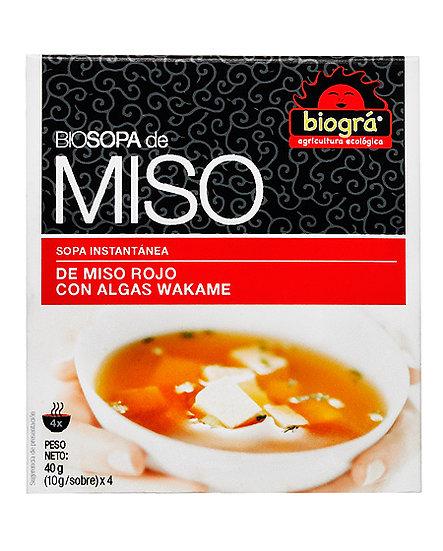Sopa instantánea Miso (4 sobres)